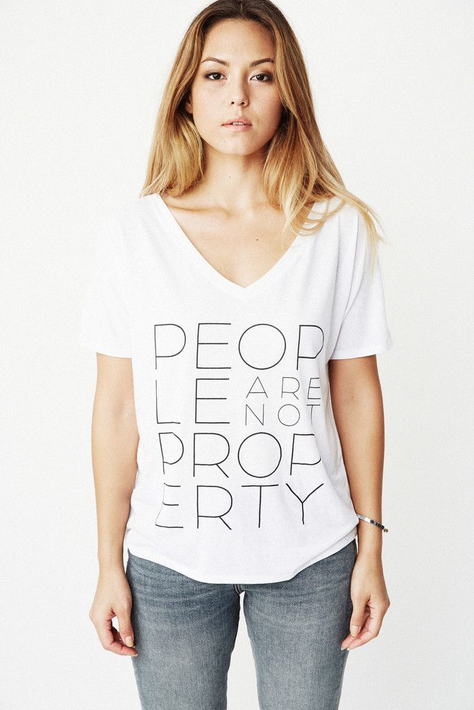 People Are Not Property | 2 Colors