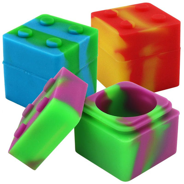 11ml Cube Silicone Stack Jar