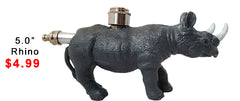 New Mini Animal Metal Pipe - Tokers Hub