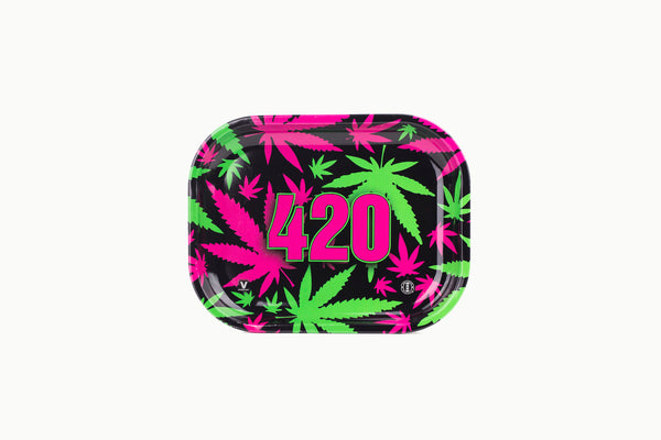 420 Retro Rolling Trays 7'' X 5.5''- Small