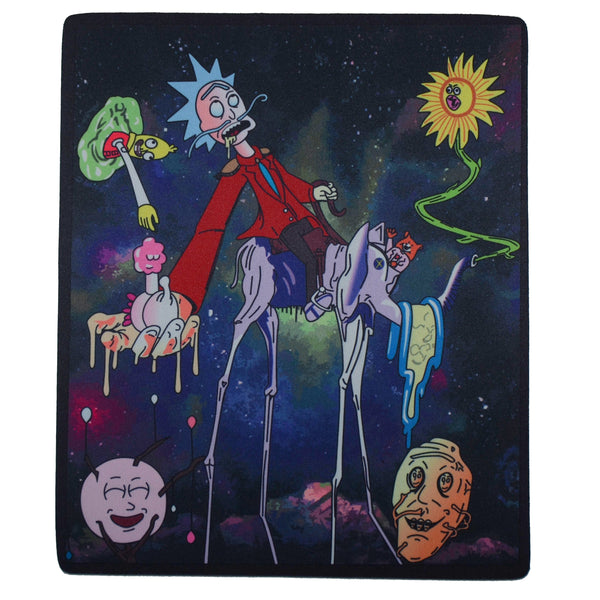 """Rick Wasted in the Space"" Dab Mat"
