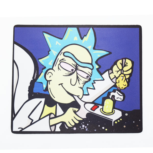 """Rick taking a Fat Hit"" Dab Mats"