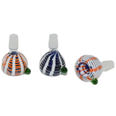 Thick Double Glass Bubble Art Glass Bowls - Tokers Hub