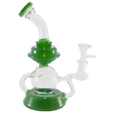 Sci-Fi Futuritic Glass Triple Inline Recycler
