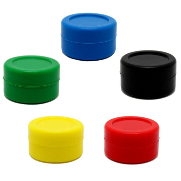 7ml Colored Silicone Jar