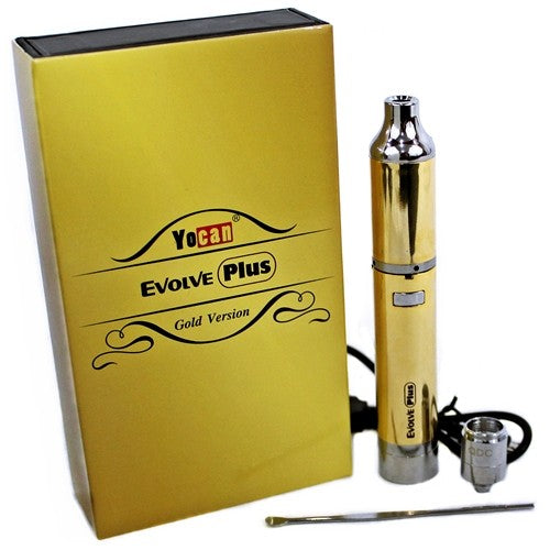 Yocan Evolve Plus Gold Concentrates Vaporizer