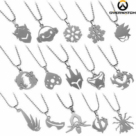 Choose Your Hero! Overwatch Necklace