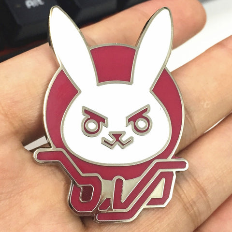 D.VA Pin Badge