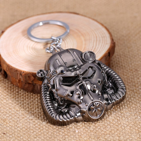 Brotherhood Of Steel Power Armor Keychain