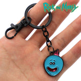 Rick and Morty Pickle Rick / MeeSeeks Keychains