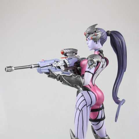 No one can hide from my sight - Over Watch Widow PVC Statue