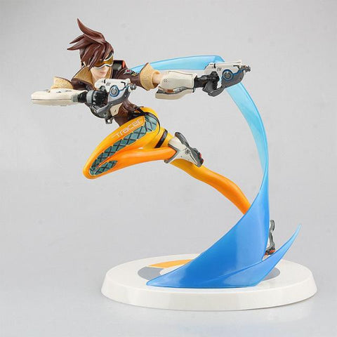 Bombs Away! Over Watch Tracer PVC Statue