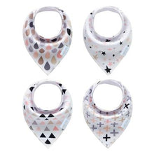 Load image into Gallery viewer, Consciously Baby - Magic Bandanna Bibs | Set of 4