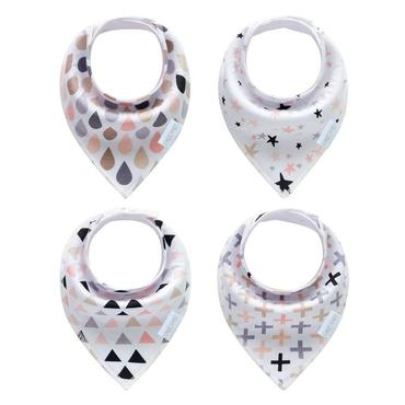 Consciously Baby - Magic Bandanna Bibs | Set of 4