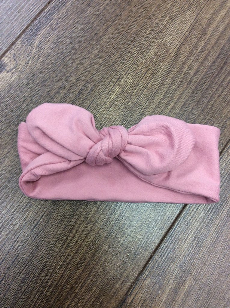 Jena Bug Baby Boutique - Light Pink Knot Bow Headband