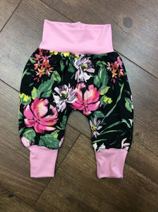 Jena Bug Baby Boutique - Wildflower Harem Baby Pants