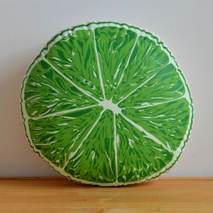 Broderpress - Lime Pillow