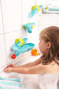 HABA - Bathtub Ball Track Set - Bathing Bliss Water Course