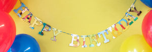 Happy Birthday Party Wall Art Garland Teacher Classroom Mom Gift