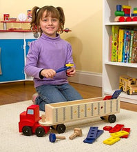 Load image into Gallery viewer, Melissa And Doug Big Rig Building Set