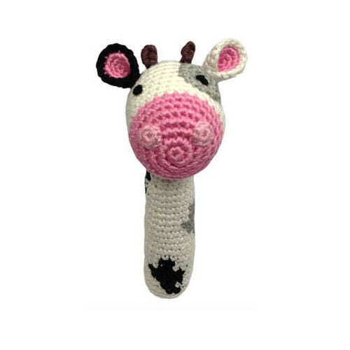 Baby Rattle - Cow by Cheengoo -