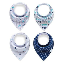 Load image into Gallery viewer, Consciously Baby - Wonder Bandanna Bibs | Set of 4