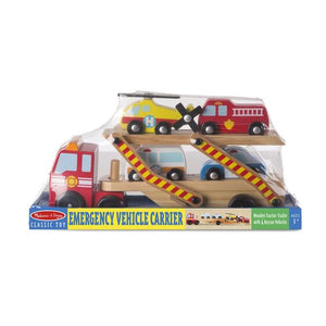 Melissa and Doug Emergency Vehicle Carrier