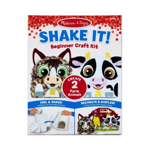 Melissa and Doug Shake it Beginner Craft Kit Farm Kit