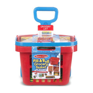Melissa and Doug Fill and Roll Grocery Cart