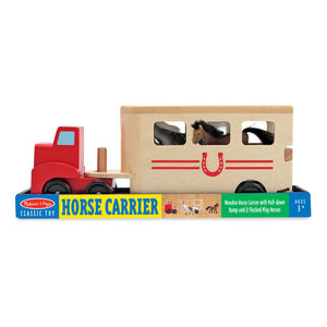 Melissa and Doug Horse Carrier Wooden Vehicle Playset