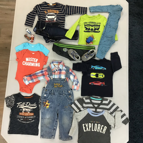 Oliver - 12M Baby Boy Bundle -16 items