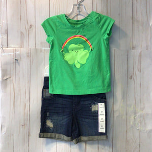 Cat & Jack 2pc Short Set 2T