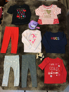Holly Girls 3T Holiday Bundle