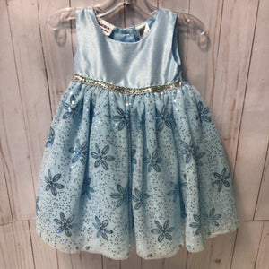 Blueberi Tulle Sparkle Spring Dress 12 Months