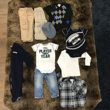 Load image into Gallery viewer, DJ Bundle - Go Seahawks - Boys 18m