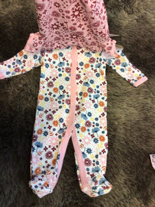 NWT Chick Pea 3 pc Girl Set 0-3M