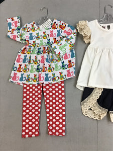 Breanna 2T Girl Lot 3 Outfits