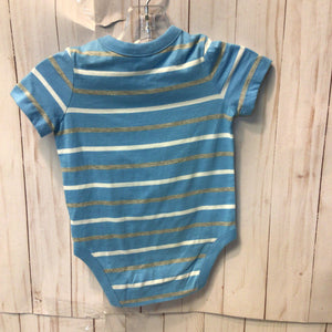 Baby Gap Bodysuit Teddy Bear - Boys 3-6m