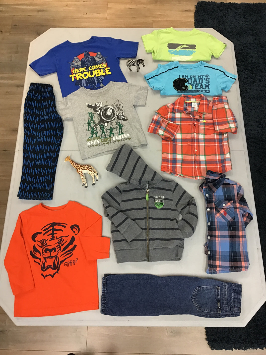 Tucker - Boys 4T Back to School Bundle