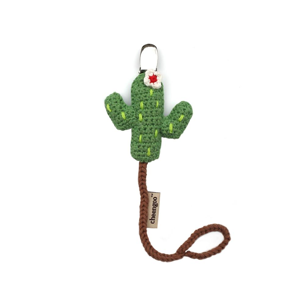 Cactus Pacifier Clip - Cheengoo - Baby Infant Gift