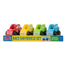 Melissa and Doug Racecar Set