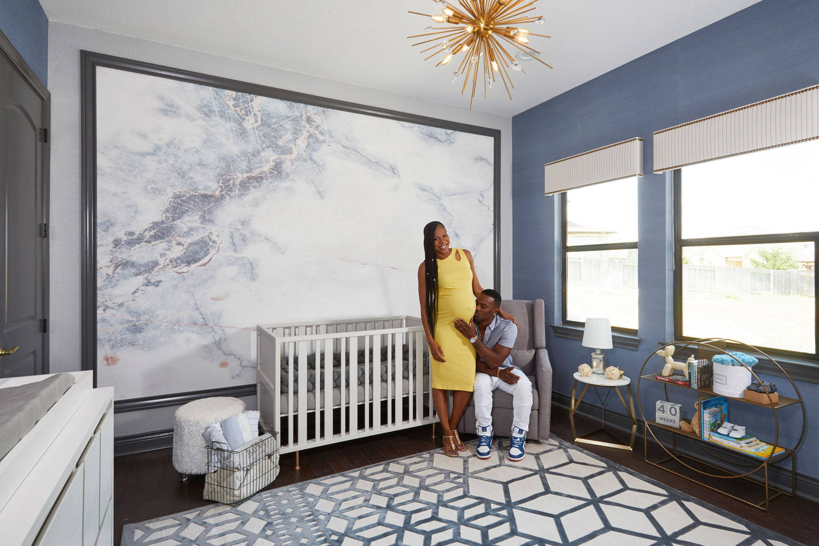 Sanya Richards-Ross' Misty-Inspired Nursery wins Gold!