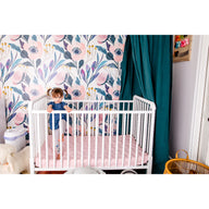 breathable baby crib mattress pink nursery