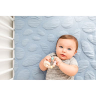 best breathable baby crib mattress blue