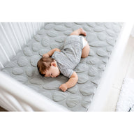 tummy sleeping baby on best breathable baby crib mattress