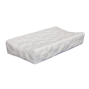 best contoured baby diaper changing pad white
