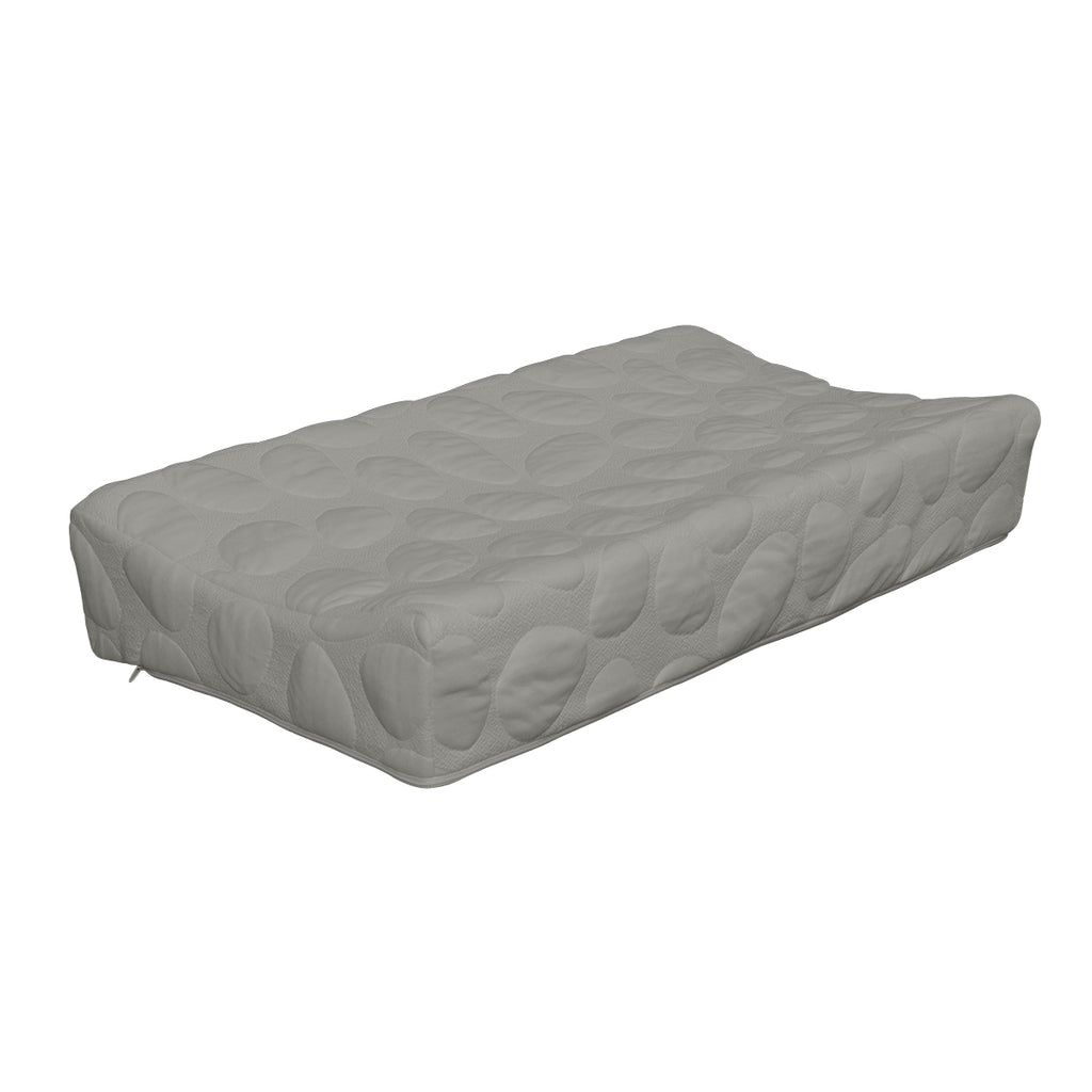 best contoured baby diaper changing pad grey nursery