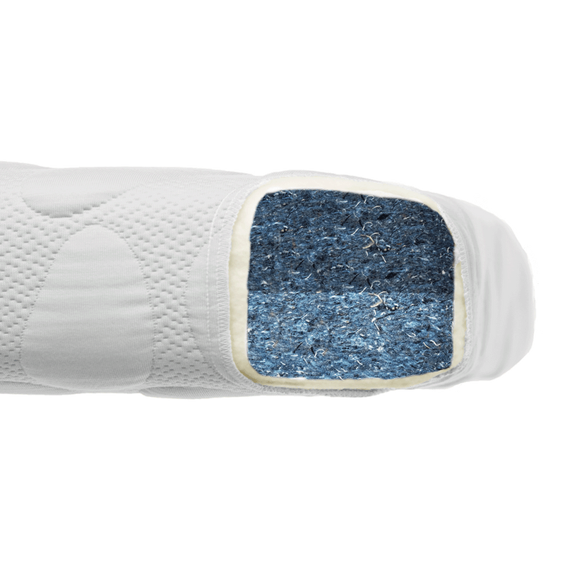 NEW! Pebble Denim Crib Mattress