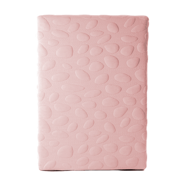 Organic Mini Crib Mattress - Organic breathable baby and toddler crib mattress covers pink