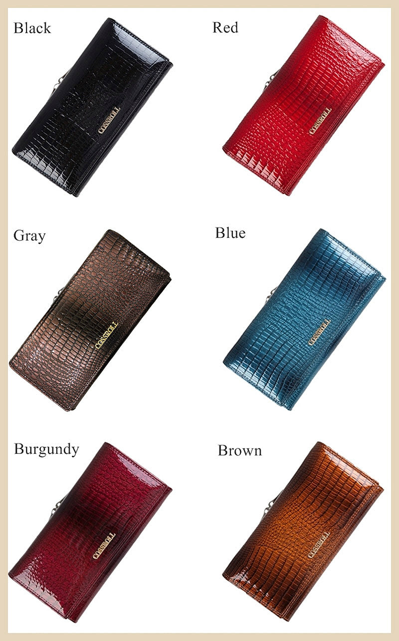 Wallets for Women Genuine Leather